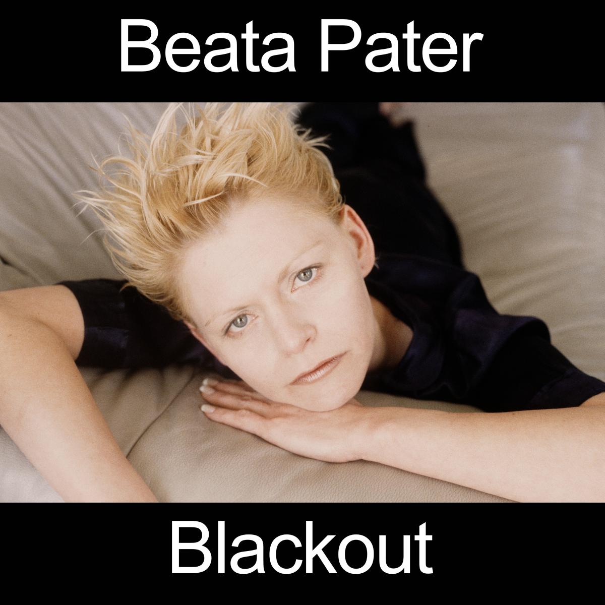 Beata Pater's Blackout album cover